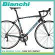 ビアンキ Bianchi Via Nirone7 Alu SORA 9SP COMPACT ロードバイク 700Cx25C 18段変速【アルミフレーム&カーボンフォークにSORA】ヴィアニローネ7アルソラ ビアニローネ7