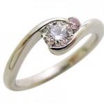 ピンクダイヤモンドのリングを安く購入できました
